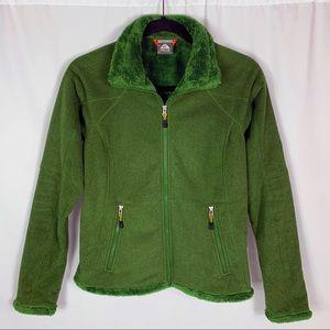 Nike ACG Full Zip Fleece Faux Fur Jacket Sz S